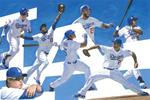 LOS ANGELES DODGERS 2014 COLLAGE Poster