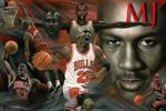 MICHAEL JORDAN COLLAGE Poster