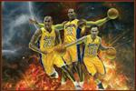 LAKERS on FIRE Poster